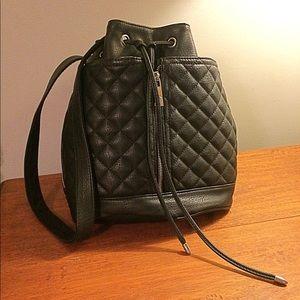 Cute Steve Madden Black Convertible Bag